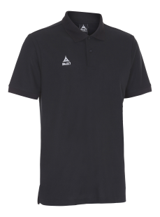 SELECT TORINO POLO T-SHIRT (black)