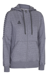 SELECT TORINO ZIP HOODIE WOMEN (grey)