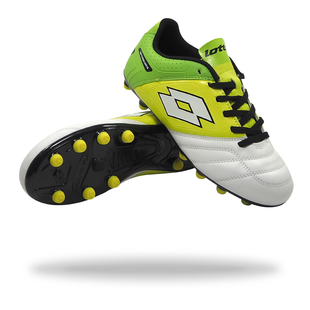 LOTTO STADIO POTENZA V 700 FG jnr (white/green)