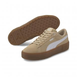 SAPATILHA PUMA SMASH PLATFORM V2 SD (pale khaki/white)