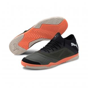 SAPATILHA PUMA 365 FUTSAL 1 (black/orange/grey)
