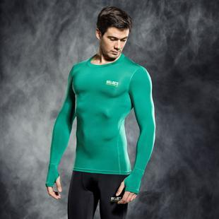SELECT 6902 COMPRESSION SHIRT WITH LONG SLEEV GREEN