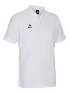 SELECT TORINO POLO T-SHIRT (white)