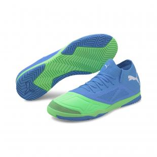 SAPATILHA PUMA 365 FUTSAL 1 (blue/elektro green/white)