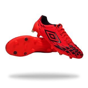 UMBRO UX ACCURO PRO HG - Fiery Coral/Winter Bloom