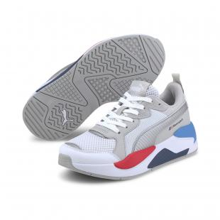 SAPATILHA PUMA BMW MMS X-RAY JNR (white/silver)gray)