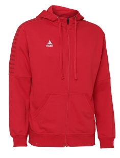 SELECT TORINO ZIP HOODIE (red)