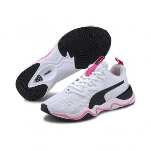 SAPATILHA PUMA ZONE XT WNS (white/black/pink)