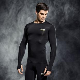 SELECT 6902 COMPRESSION SHIRT WITH LONG SLEEV BLACK