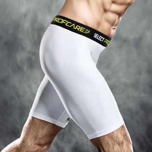 SELECT 6402 COMPRESSION SHORTS WHITE